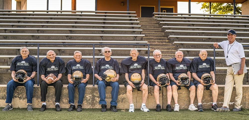McCrite Senior Living Football Team